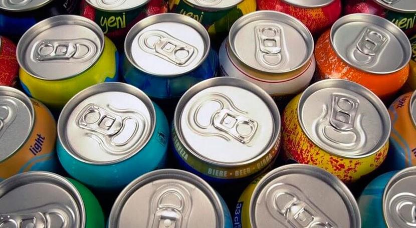 """"""" gente no sabe que últimos 30 años latas bebidas pesan 40% menos"""""""