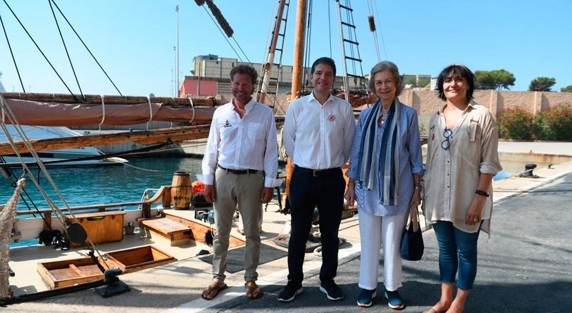 Reina Doña Sofía se suma campaña Proyecto LIBERA combatir basuraleza marina