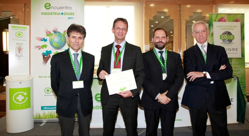 SIGRE premia Lilly mejorar impacto ambiental envases comercializados