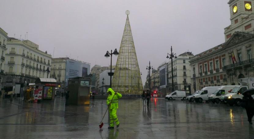 Madrid refuerza dispositivos limpieza y recogida residuos durante Campaña Navidad