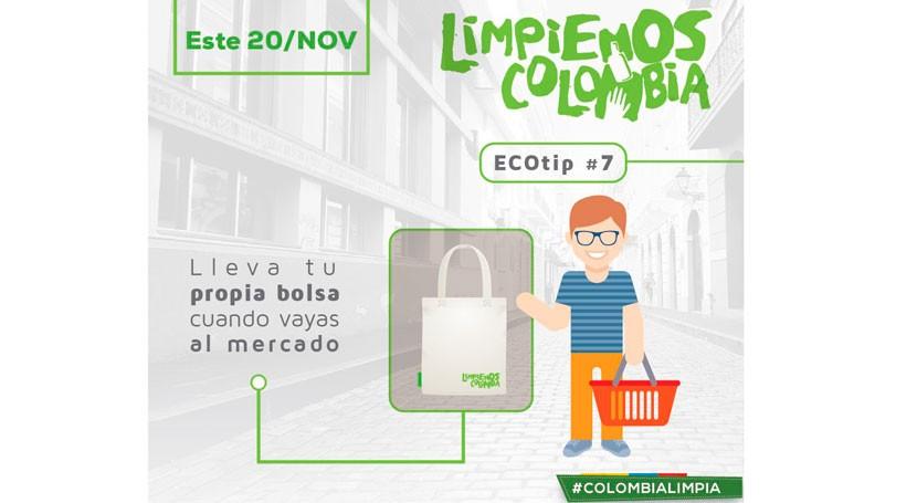 Cuenta atrás limpiar Colombia