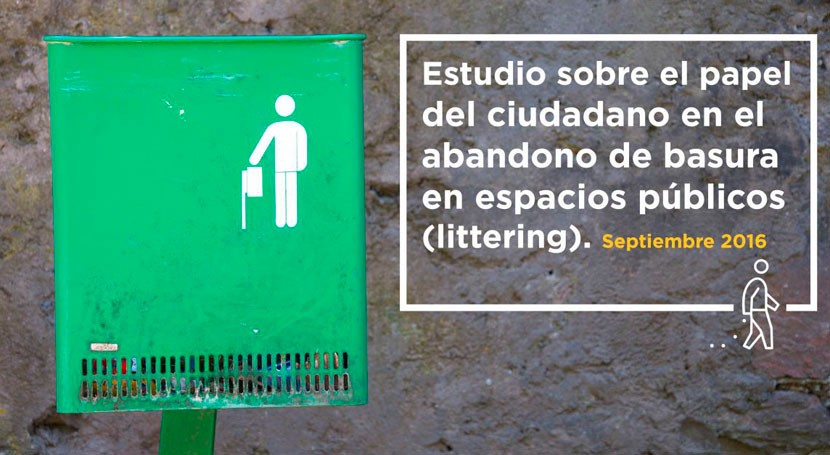 ciudadano es principal responsable abandono basura espacios públicos