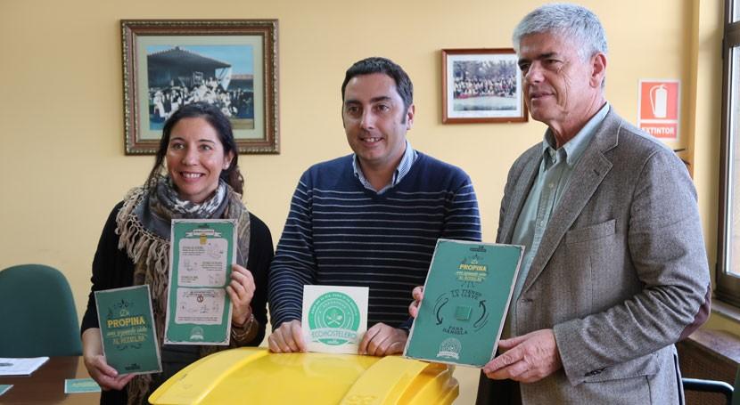 """Llanera avanza apuesta reciclaje campaña """"ECOHOSTELEROS"""""""