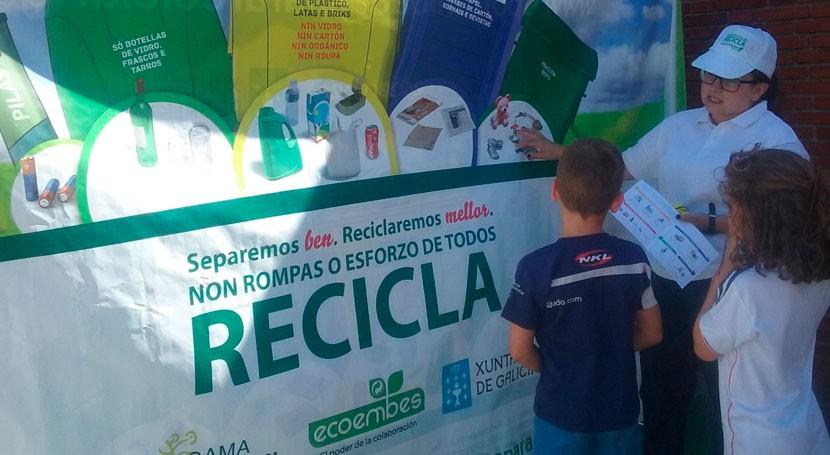 """19 colegios participan actividades pedagógicas campaña """"Oportunidades Galicia"""""""