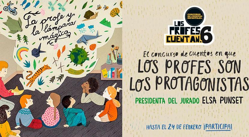 """Ecoembes convoca sexta edición concurso """" Profes Cuentan"""""""