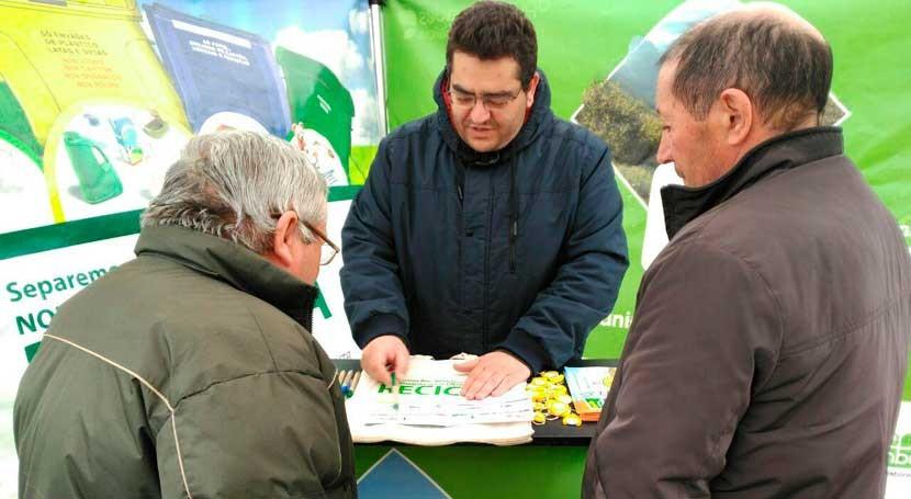 """campaña reciclaje """"Oportunidades Galicia"""" llega al municipio Esgos"""
