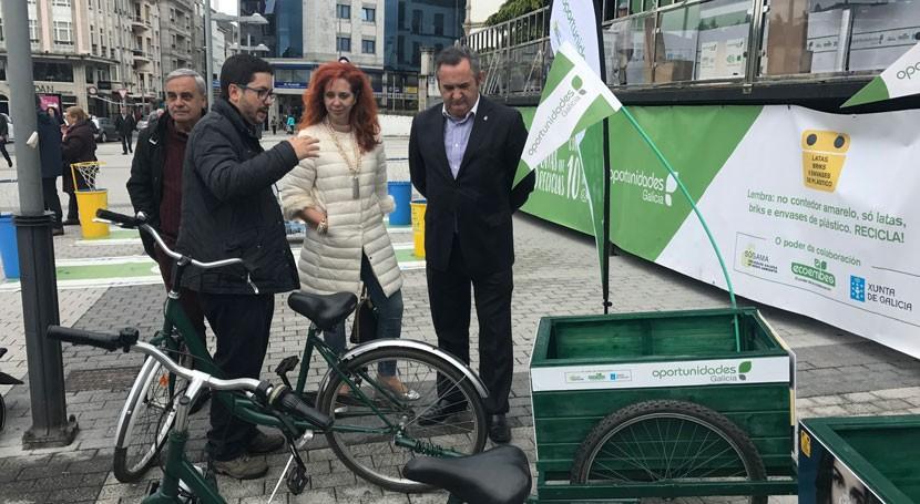 Lugo, escenario actividades fomentar reciclaje