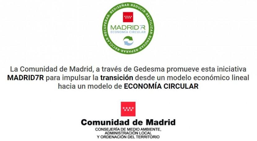 Nace MADRID7R, punto encuentro virtual impulsar economía circular