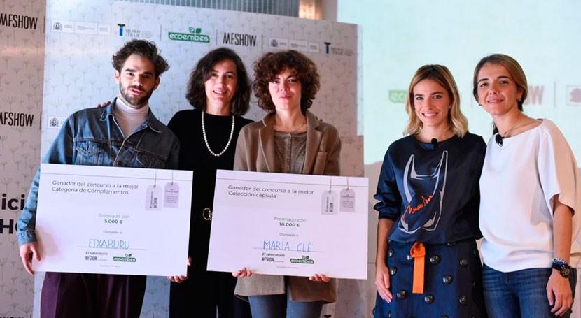 María Clè y Etxaburu ganan certamen moda sostenible Laboratorio