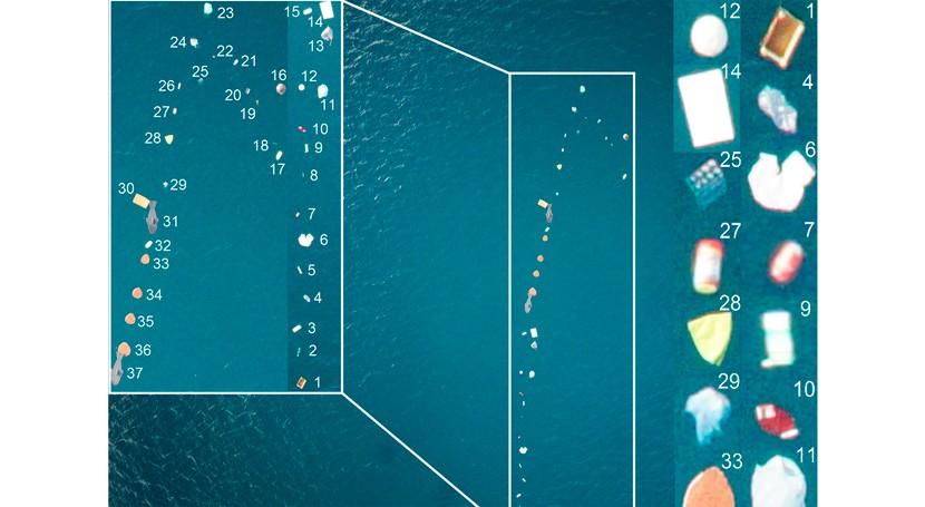 Así detectamos y contamos basura que flota mar