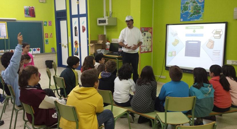 Más 20.500 escolares ya han participado campaña reciclaje promovida Galicia
