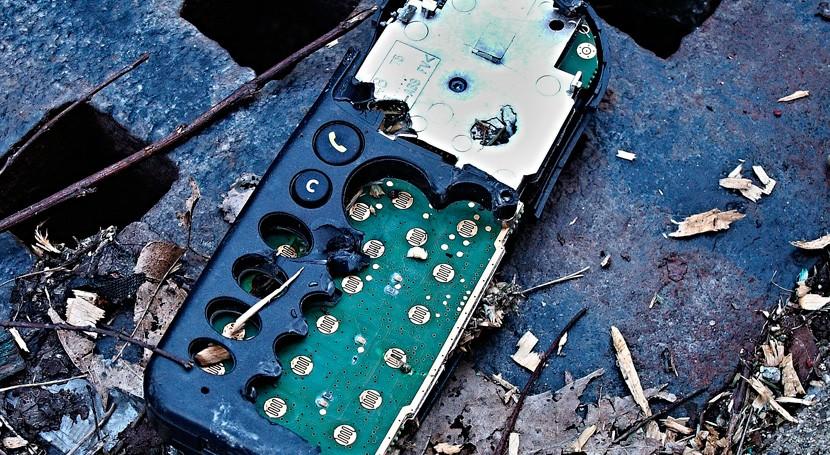 qué sigue existiendo mercado ilegal residuos electrónicos