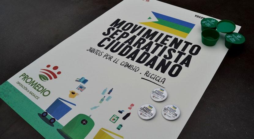 Aula Móvil lleva Movimiento Separatista Ciudadano playas agua dulce Badajoz