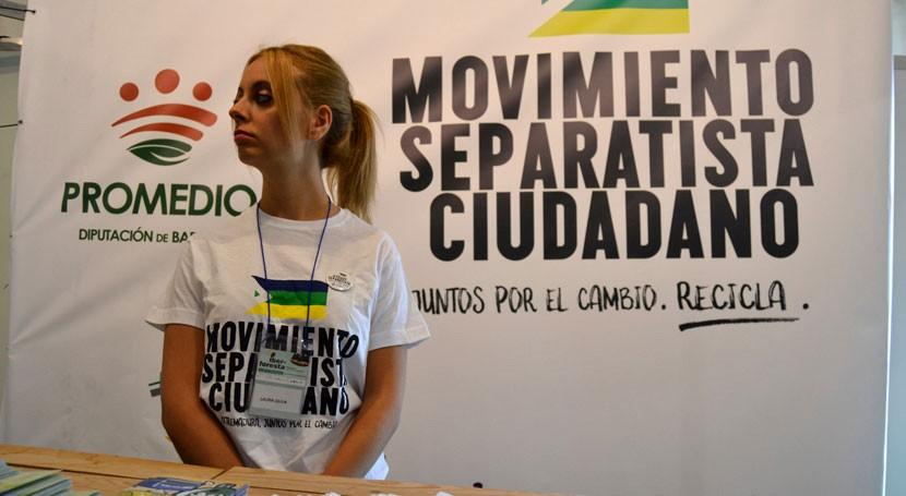 Movimiento Separatista Ciudadano PROMEDIO llega feria Iber-Foresta Plasencia
