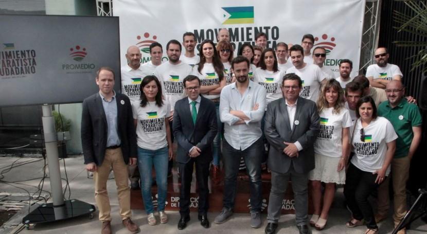 Movimiento Separatista Ciudadano: Badajoz promueve reciclaje campaña sensibilización