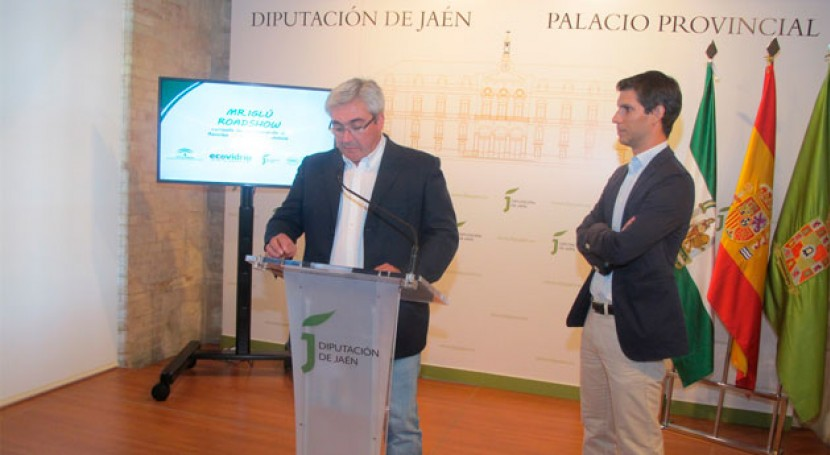 fiesta itinerante animar al reciclaje vidrio 'Mr Iglú Roadshow' recorre Jaén