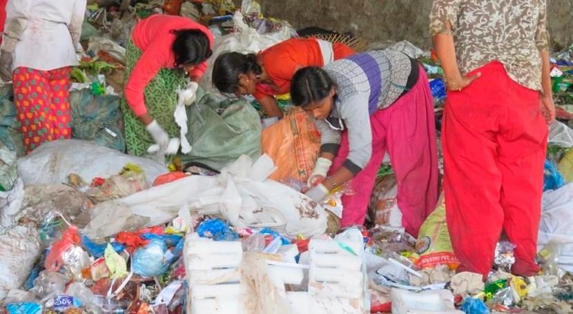 gestión residuos, oportunidad igualdad género