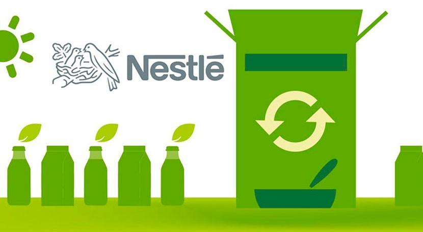 Nestlé se compromete que 100% envases sean reciclables o reutilizables 2025