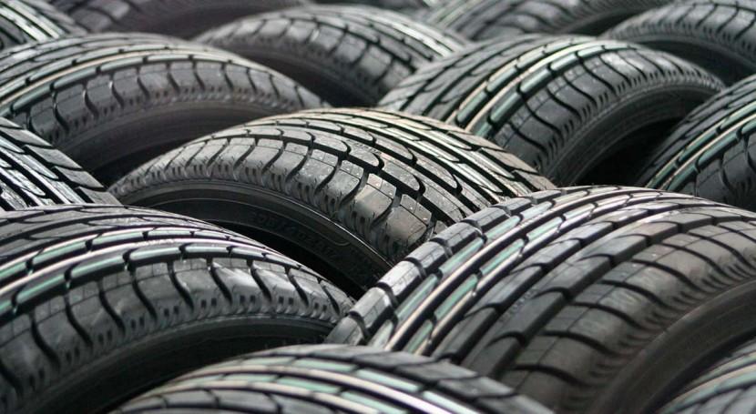 SIGNUS recogió más 185.000 toneladas neumáticos fuera uso 2015