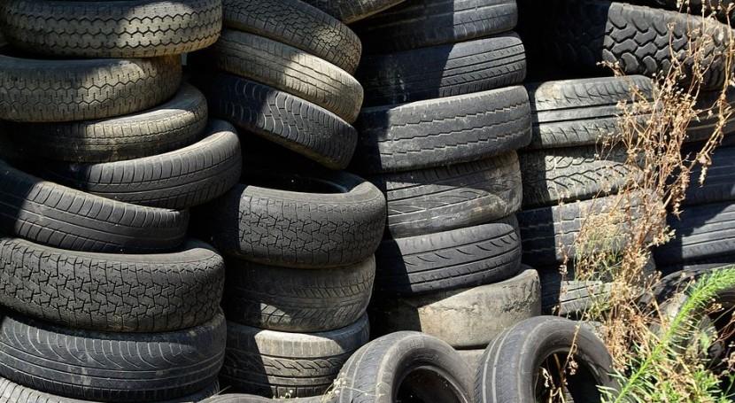 ¿Para qué se utiliza caucho reciclado neumáticos?