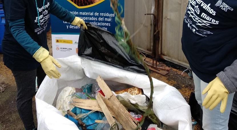 proyecto RepescaPlas logra recuperar mar algo más 3.000 kilos basuras marinas