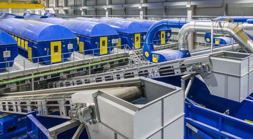 nueva planta recuperación materiales Sogama entra producción