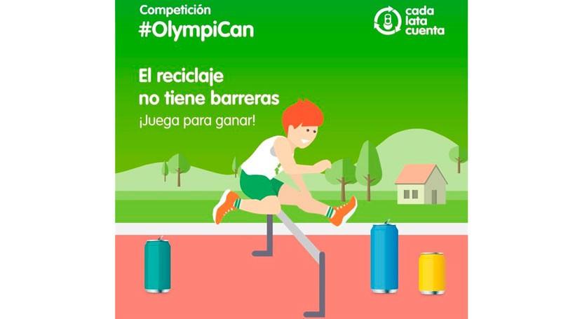 #OlympiCan, videojuego creado marco JJOO que promueve reciclaje latas