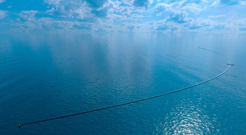 revolucionario sistema limpiar plásticos mar