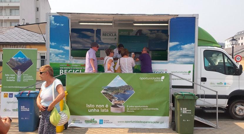 """""""Oportunidades Galicia"""" intensifica Ferrol acciones formativas materia reciclaje"""