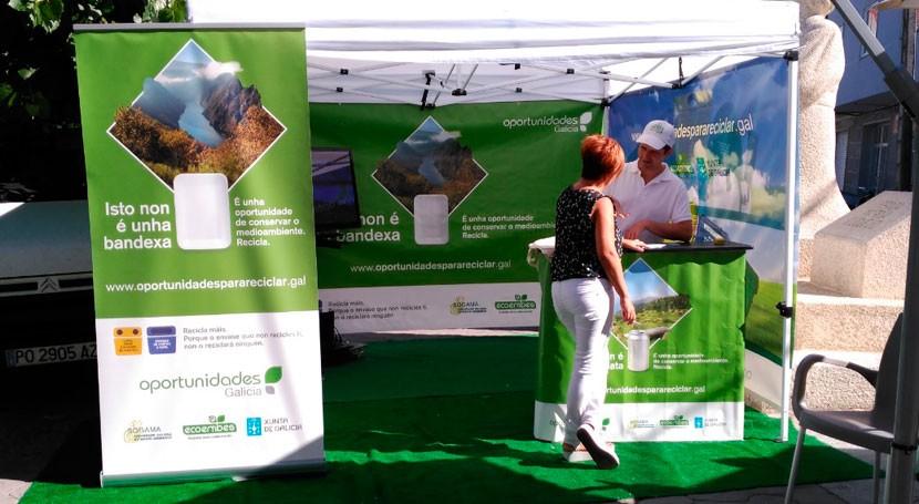 'Oportunidades Galicia. Separemos bien, reciclaremos mejor', todo éxito 2016