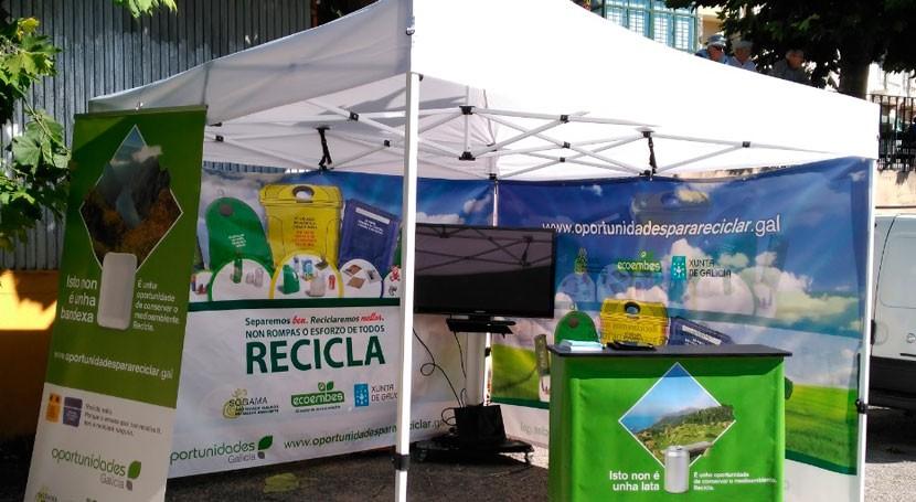 campaña gallega reciclaje llega 12 ayuntamientos lucenses