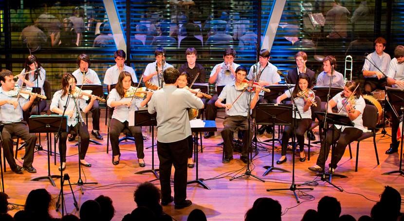 Orquesta Instrumentos Reciclados, primera vez Teatro Real Madrid