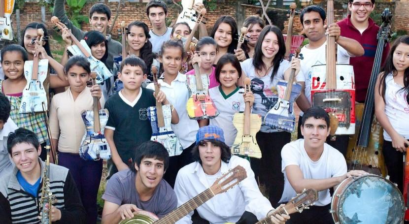 Orquesta Instrumentos Reciclados Cateura actuará Teatro Real Madrid