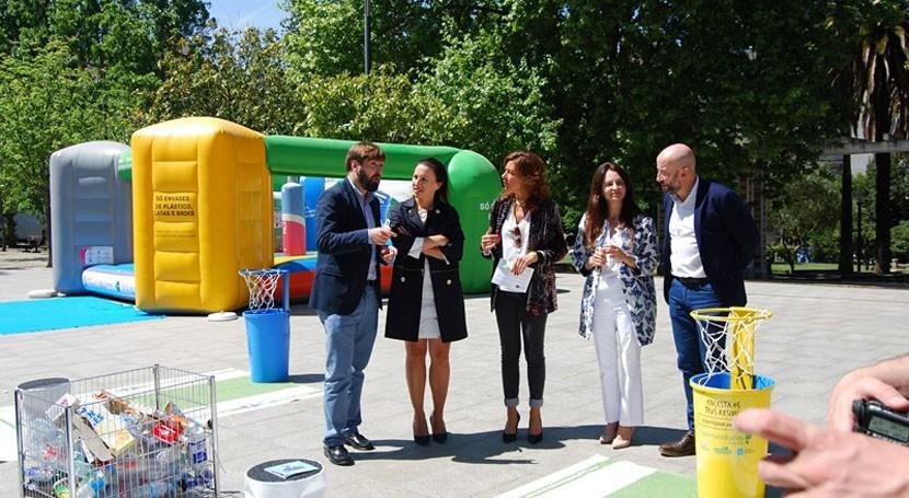 Xunta incide Ourense necesidad incrementar reciclaje y consumo responsable