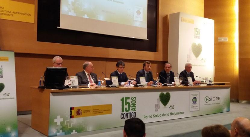 SIGRE celebra 15 años reciclado envases medicamentos