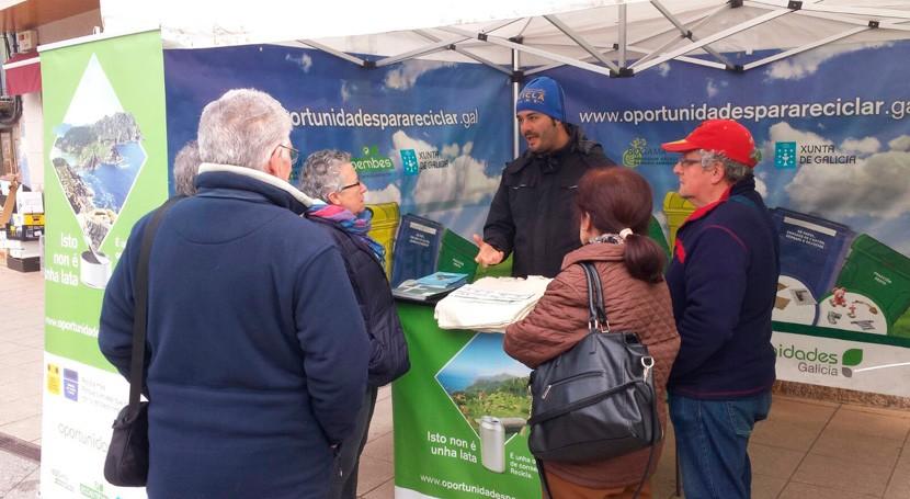 """Paderne podrá conocer pormenores reciclaje mano """"Oportunidades Galicia"""""""