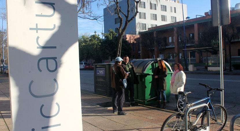 Participa pide más contenedores reciclar Parque Científico y Tecnológico Cartuja
