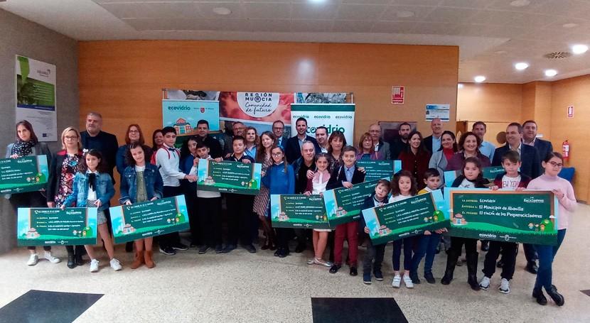 """Entregados premios campaña """" Peque Recicladores Región Murcia"""""""