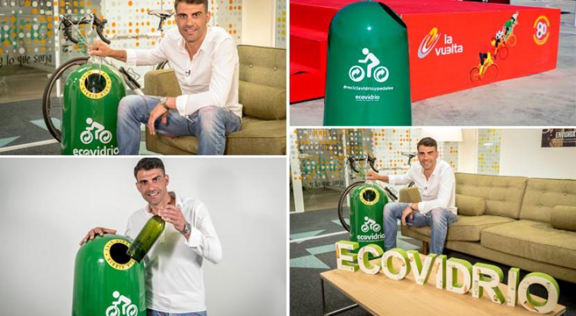 """""""Recicla vidrio y pedalea"""" regresa Vuelta ciclista España"""