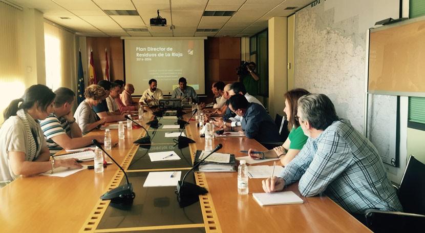 Rioja aprueba Plan Director Residuos 2016-2026