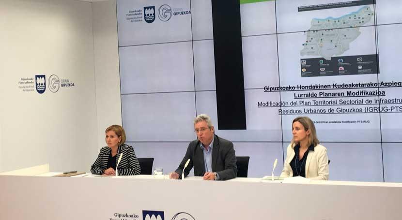 Comienzan trámites desarrollo segunda fase Centro Medioambiental Gipuzkoa