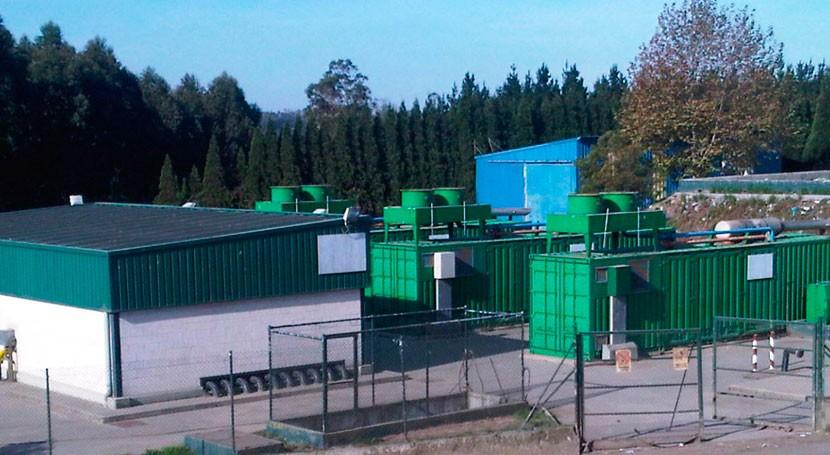 planta biogás Sogama incrementa producción energética 5% 6 meses