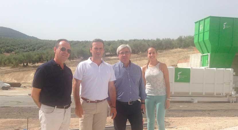 Jaén invierte 1 millón euros estación transferencia y planta inertes Cazorla