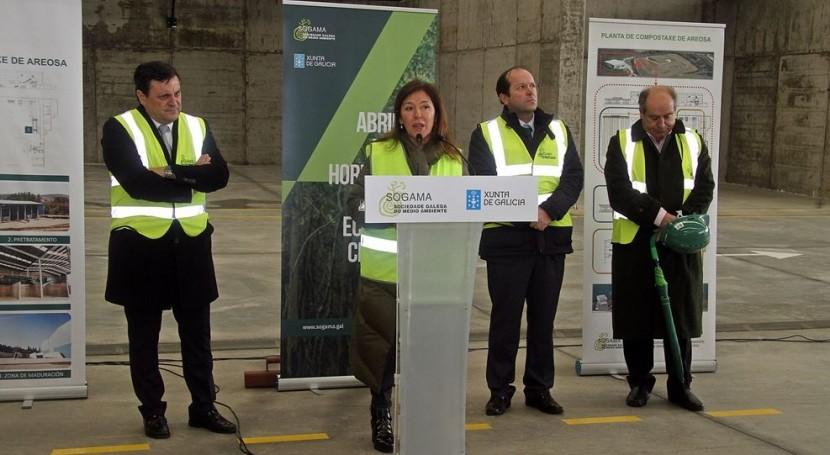 nueva planta compostaje Areosa podrá producir 4.000 toneladas abono calidad