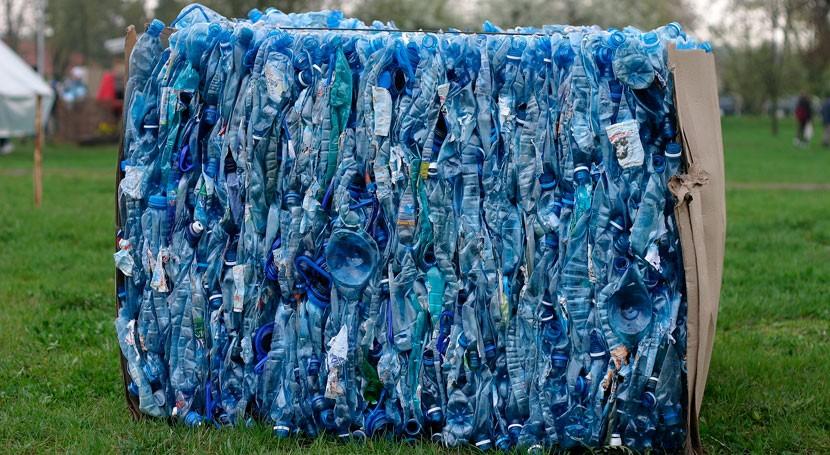 uso plástico reciclado envases alimentarios: Así es challenge test