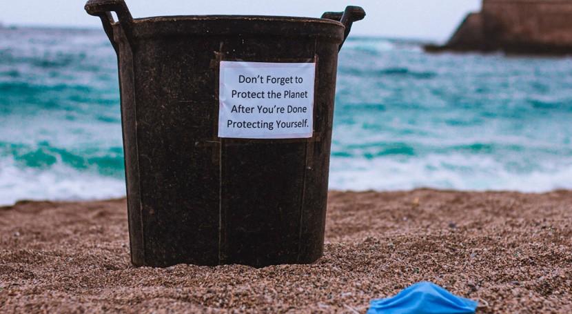 Turismo pandemia: urgen refuerzos contaminación plásticos