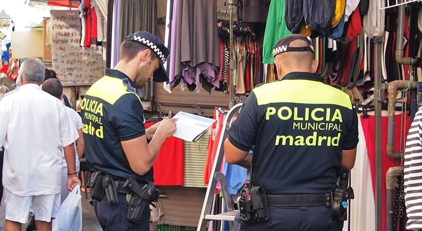 Policía Madrid reinicia campaña control limpieza espacios públicos