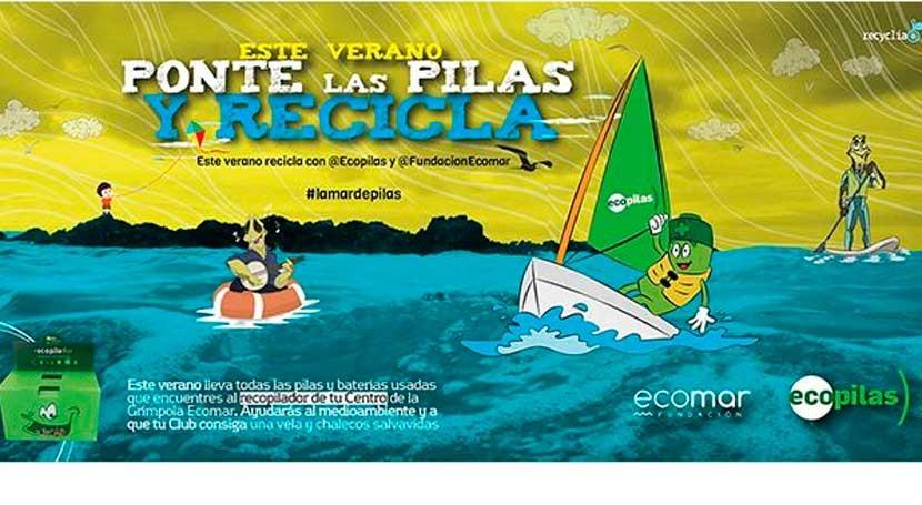 """campaña """"Ponte pilas y recicla"""" consigue reciclar 4.500 kilos pilas 2015"""