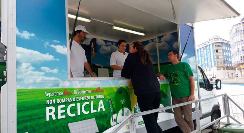 O Porriño, próximo destino campaña gallega reciclaje