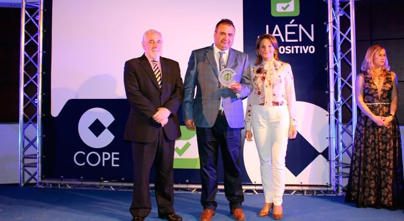 "Andaltec gana premio ""Jaén Positivo"" iniciativa innovación sector plástico"